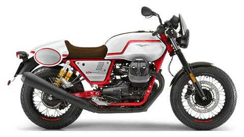 2020 Moto Guzzi V7 III Racer LE in Charleston, South Carolina