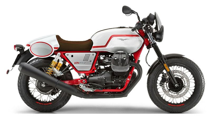 2020 Moto Guzzi V7 III Racer LE in Ferndale, Washington