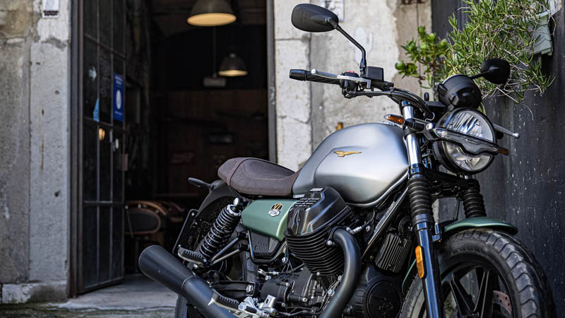 2021 Moto Guzzi V7 Stone Centenario E5 in Knoxville, Tennessee - Photo 6