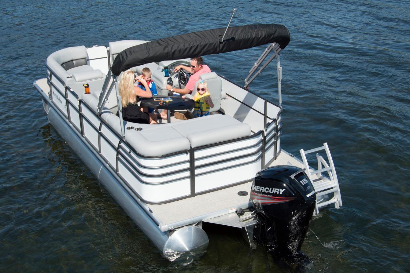 2016 Misty Harbor 2585 Biscayne Bay CS in Trego, Wisconsin