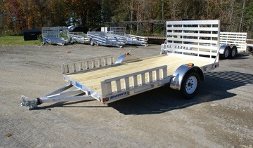 2015 Mission Trailers MU 6.5 x 12 W-R in Newport, Maine