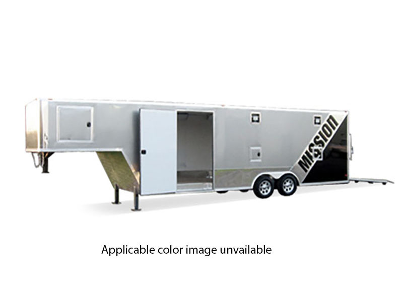 2019 Mission Trailers Gooseneck Trailers (MEG 8.5 x 24) in Yankton, South Dakota