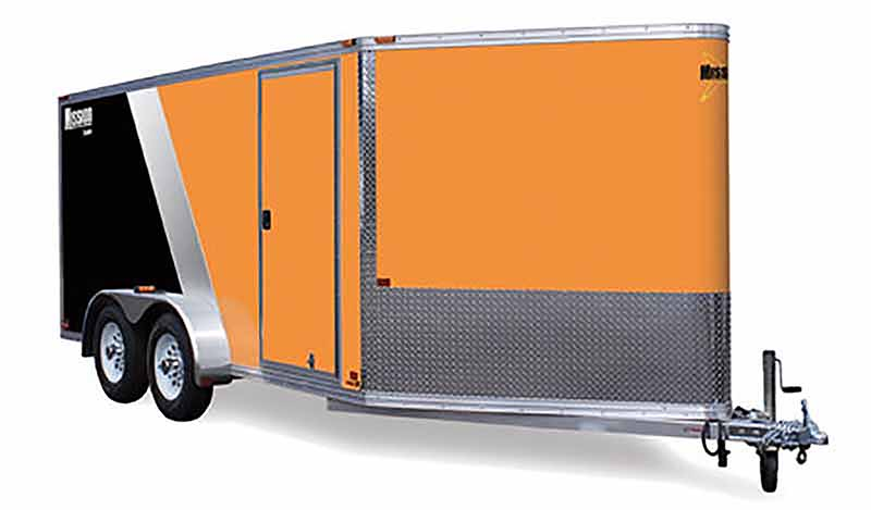 2020 Mission Trailers Aluminum Cargo Trailers (MEC 4 x 6) in Sandpoint, Idaho