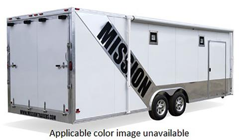 2020 Mission Trailers Aluminum Car Hauler Trailers (MCH 8.5 x 28) in Sandpoint, Idaho