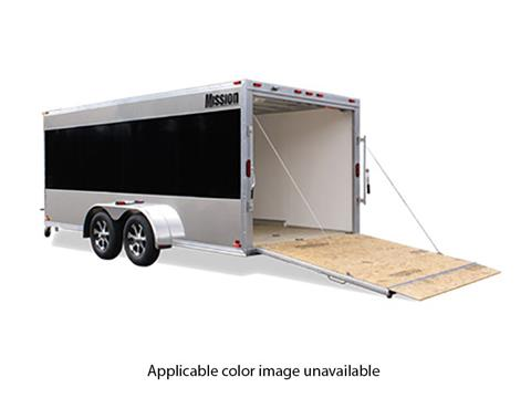 2020 Mission Trailers Aluminum Motorcycle Trailers (MEM 7 x 12 Low Pro) in Sandpoint, Idaho