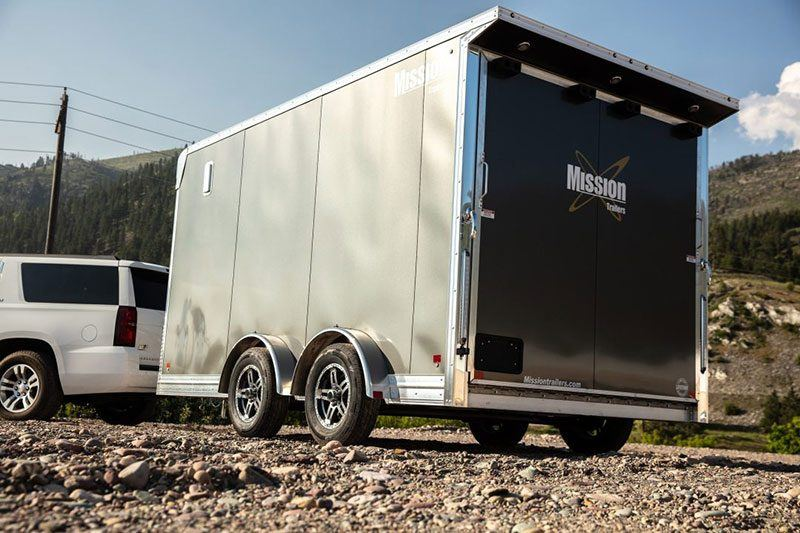 2020 Mission Trailers Mission 7.5 x 14 Pinnacle in Sandpoint, Idaho - Photo 2