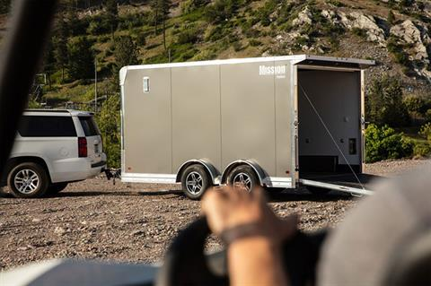 2020 Mission Trailers Mission 7.5 x 14 Pinnacle in Sandpoint, Idaho - Photo 4