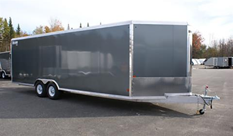 2020 Mission Trailers Enclosed Snowmobile Trailers (MCH 8.5 x 16 AS) in Sandpoint, Idaho