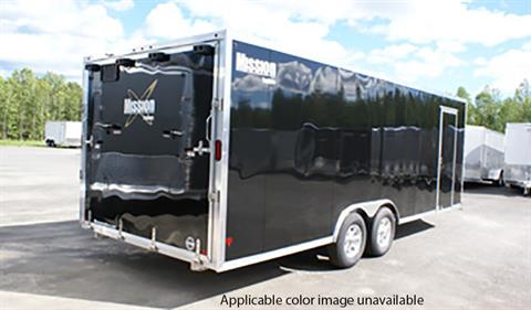 2020 Mission Trailers Enclosed Snowmobile Trailers (MCH 8.5 x 22 AS) in Sandpoint, Idaho