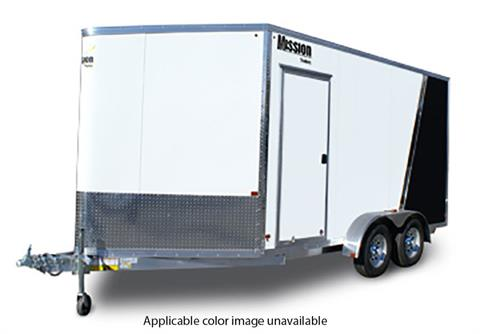 2020 Mission Trailers Enclosed Snowmobile Trailers (MES 7.5 x 14) in Sandpoint, Idaho