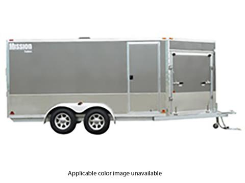2020 Mission Trailers Enclosed Snowmobile Trailers (MES 7.5 x 16) in Sandpoint, Idaho