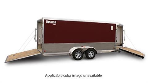 2020 Mission Trailers Enclosed Snowmobile Trailers (MES 7 x 18) in Sandpoint, Idaho