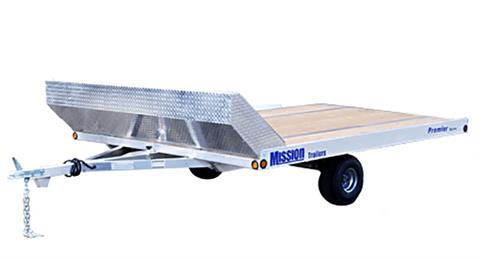 2020 Mission Trailers Open Aluminum Snowmobile Trailers (MFS 101 x 12LV) in Sandpoint, Idaho