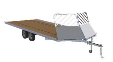 2020 Mission Trailers Open Aluminum Snowmobile Trailers (MFS 101 x 14LV) in Sandpoint, Idaho