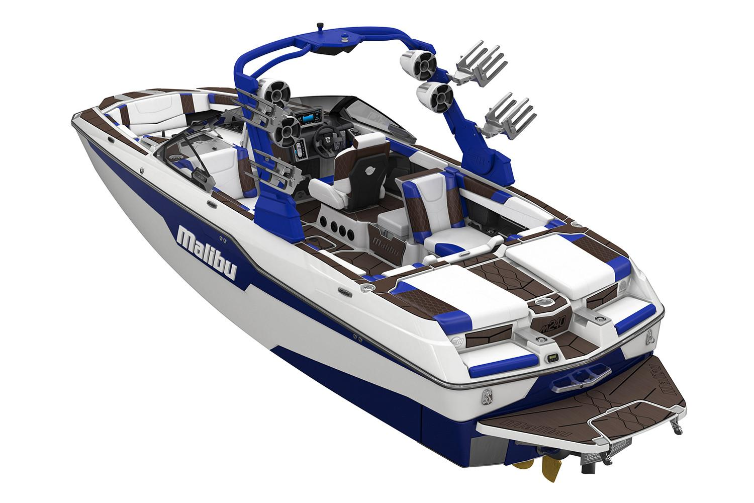 New 2020 Malibu M240 Power Boats Inboard In Rapid City Sd Stock Number
