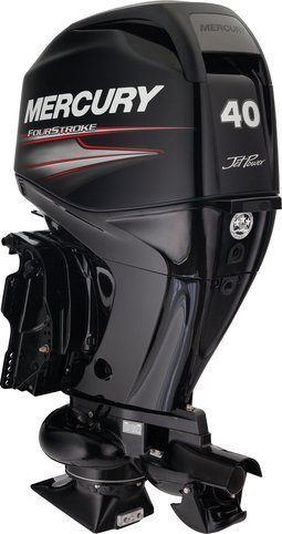 2015 Mercury Marine 40 hp EFI Jet FourStroke in Waxhaw, North Carolina