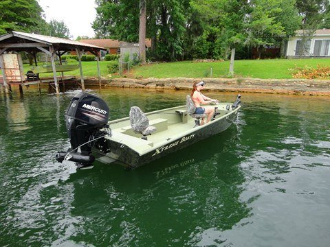 2016 Mercury Marine 25 hp EFI Jet FourStroke in Osage Beach, Missouri