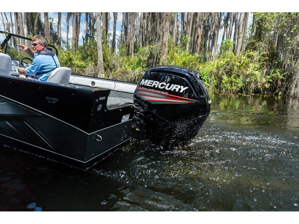2016 Mercury Marine 90 hp Command Thrust FourStroke (20 in) in Appleton, Wisconsin