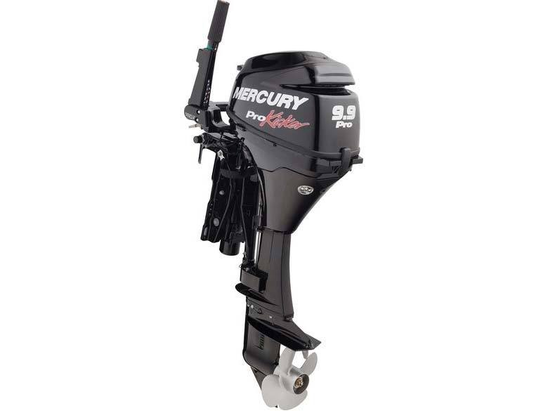 2016 Mercury Marine 9.9 hp ProKicker FourStroke (25 in) in Naples, Maine