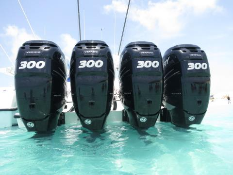2017 Mercury Marine 300 Verado in Fleming Island, Florida