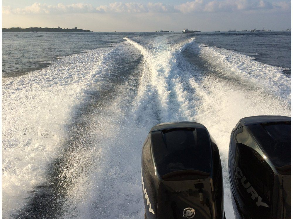 2017 Mercury Marine 350 Verado in Harriman, Tennessee