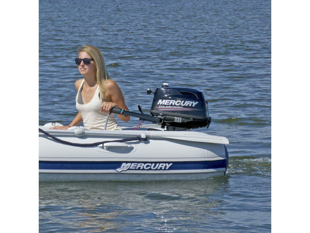 2017 Mercury Marine 5 hp FourStroke in Barrington, New Hampshire