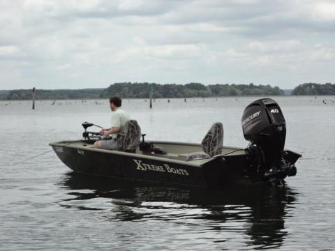 2017 Mercury Marine 65 hp EFI Jet FourStroke in Harriman, Tennessee