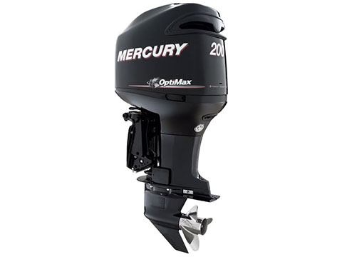 2017 Mercury Marine 200 OptiMax in Center Ossipee, New Hampshire
