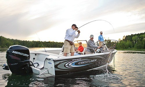 2018 Mercury Marine Pro FourStroke 200 hp in Amory, Mississippi