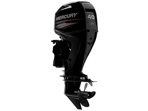 2018 Mercury Marine 40 hp EFI Command Thrust in Manitou Beach, Michigan