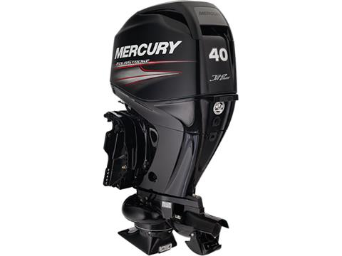 2018 Mercury Marine 40 hp EFI Jet FourStroke in Barrington, New Hampshire