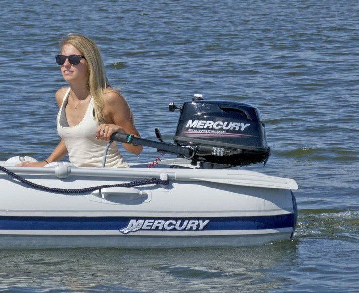2018 Mercury Marine 4 hp FourStroke in Littleton, New Hampshire