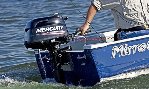 2018 Mercury Marine 4 hp FourStroke in Barrington, New Hampshire