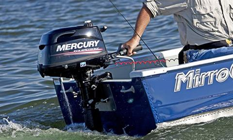 2018 Mercury Marine 4 hp FourStroke in Mineral, Virginia