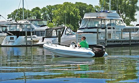 2018 Mercury Marine 50 hp EFI Command Thrust in Littleton, New Hampshire