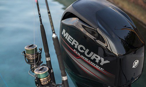 2018 Mercury Marine 90 hp Command Thrust FourStroke in Kalispell, Montana
