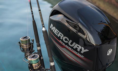 2018 Mercury Marine 90 hp Command Thrust FourStroke in Waco, Texas