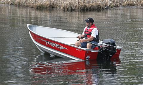 2018 Mercury Marine 9.9 hp Command Thrust FourStroke in Spearfish, South Dakota