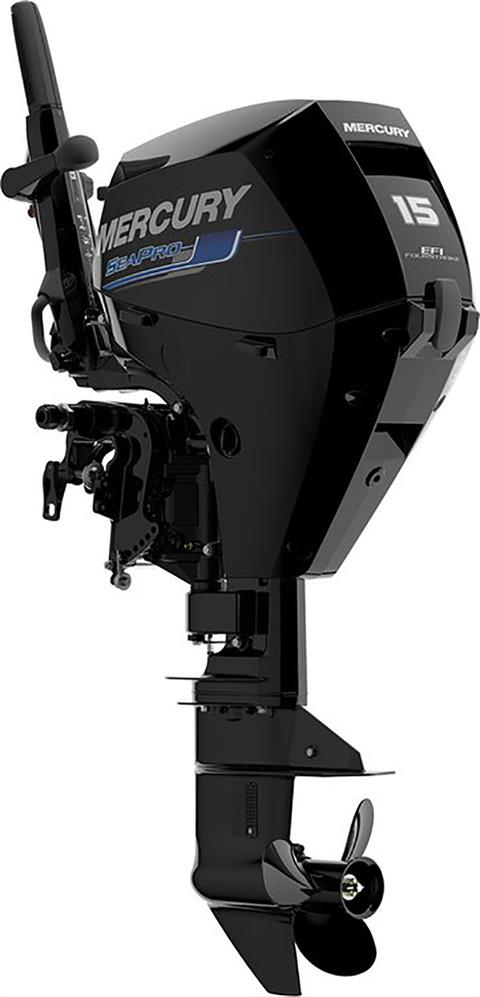 2018 Mercury Marine SeaPro FourStroke 15 hp in Saint Peters, Missouri