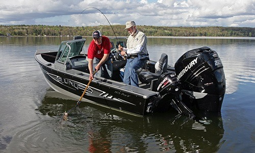 2018 Mercury Marine Six Cylinder 225 hp in Barrington, New Hampshire