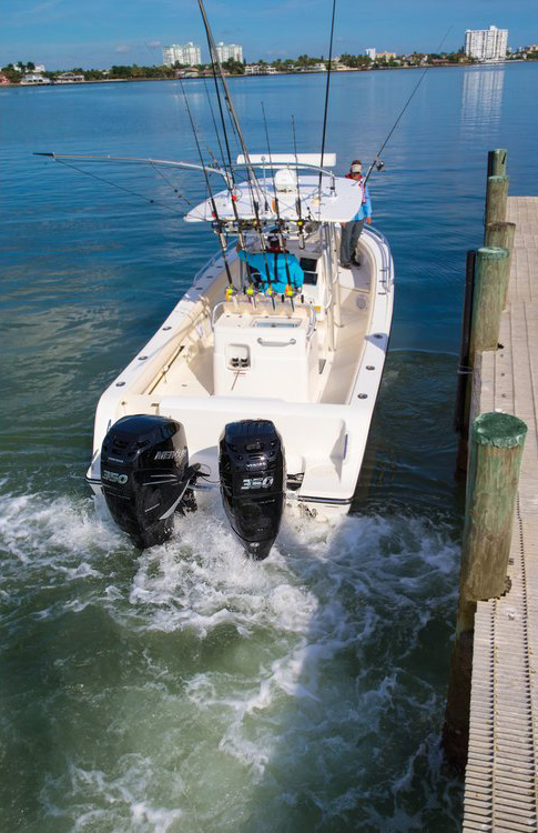 2018 Mercury Marine Six Cylinder 300 hp in Holiday, Florida