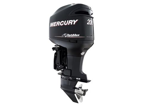 2018 Mercury Marine OptiMax 3.0L 200 hp in Barrington, New Hampshire