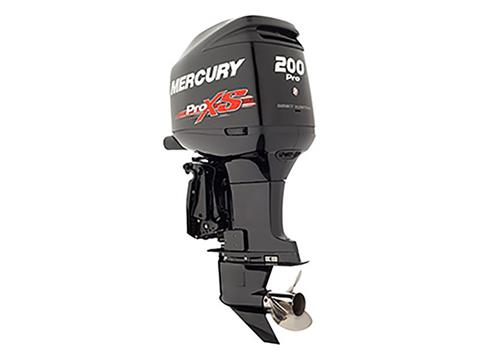 2018 Mercury Marine 200 Optimax Pro XS in Amory, Mississippi