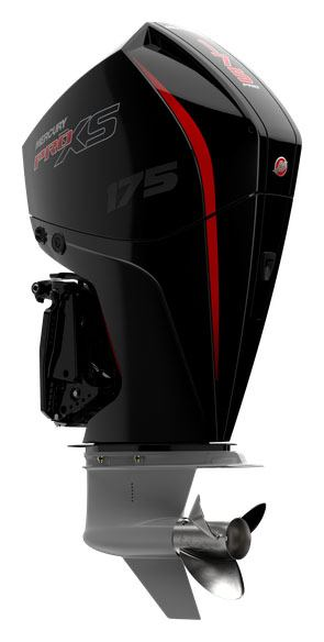 Mercury Marine 175XL FourStroke DTS 4.8 in. 1.85 in Mineral, Virginia