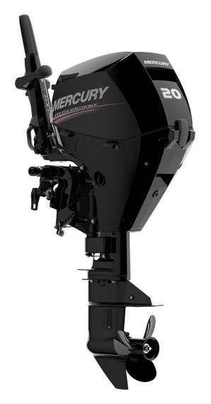 2019 Mercury Marine 20ELH FourStroke in Saint Helen, Michigan