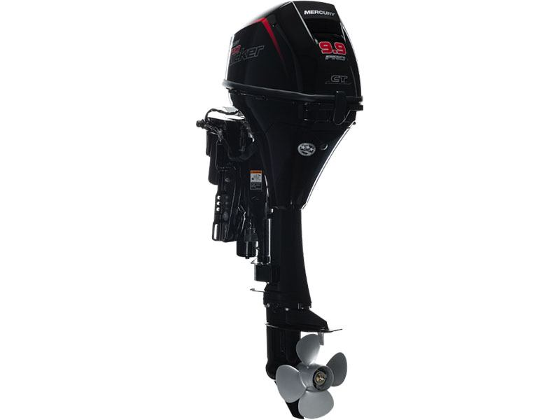 2019 Mercury Marine 9.9ELHPT Command Thrust ProKicker FourStroke in Littleton, New Hampshire