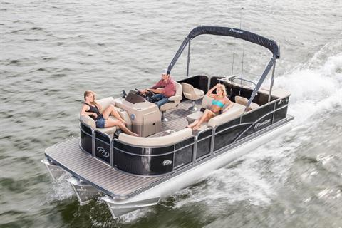 2018 Manitou 20 Aurora LE Angler Full Front in Madera, California