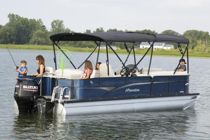 2019 Manitou 22 Oasis Angler FF in Madera, California