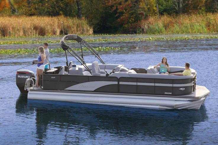 2021 Manitou 22 Encore Pro Angler FF in Woodruff, Wisconsin - Photo 1