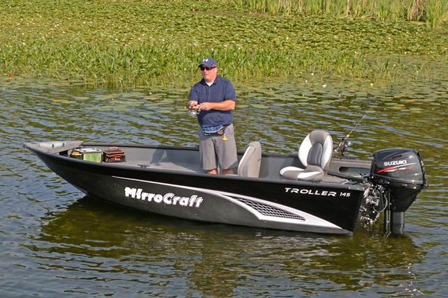 2017 MirroCraft 145T Troller in Green Bay, Wisconsin